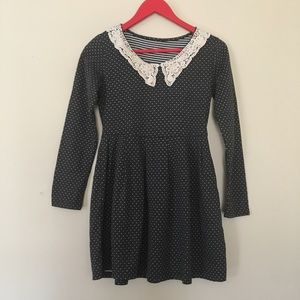 Stretchy Polka Dot Dress